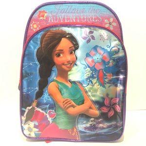 Elena Of Avalor Disney Backpack Girl Purple School